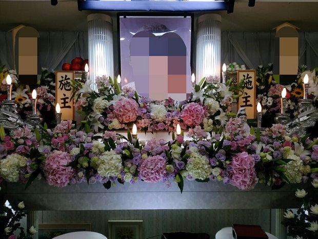 日光葬儀 やすらぎホール花祭壇